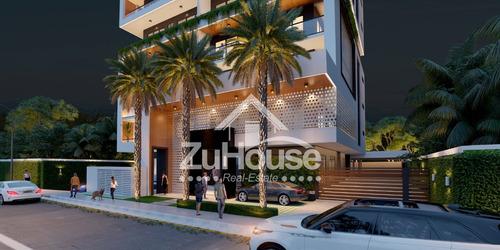 Imagen 1 de 11 de Apartamento En Hermosa Torre En Rincón Largo Santiago Za05 B