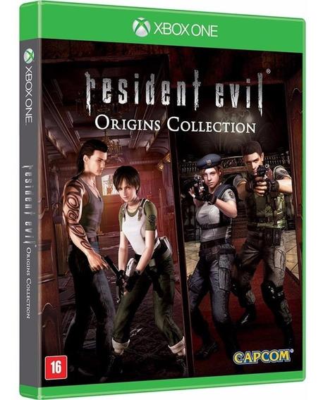 Jogo Resident Evil Origins Xbox One Midia Fisica Original