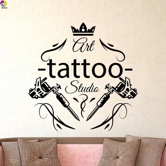 Adesivo Estúdio Tatuagem Tatuador Decoração Top 2019