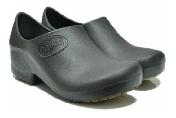 Sapato Tamanco Profissional Enfermagem Preto Ca 39848 - 36