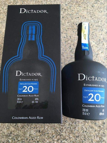 Ron Dictador 20 Años 700 Ml