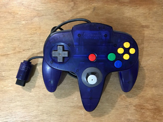 Control Para Nintendo 64 Grape Purple Buen Estado N64