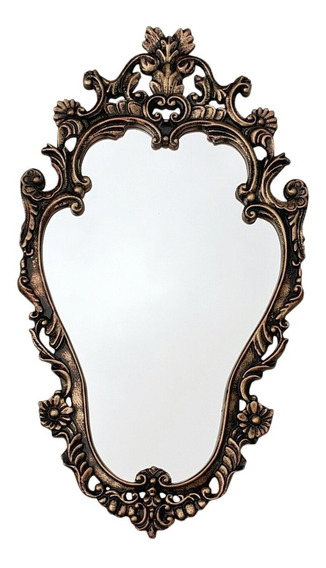 Espelho Com Moldura Vintage Provençal Diversas Cores