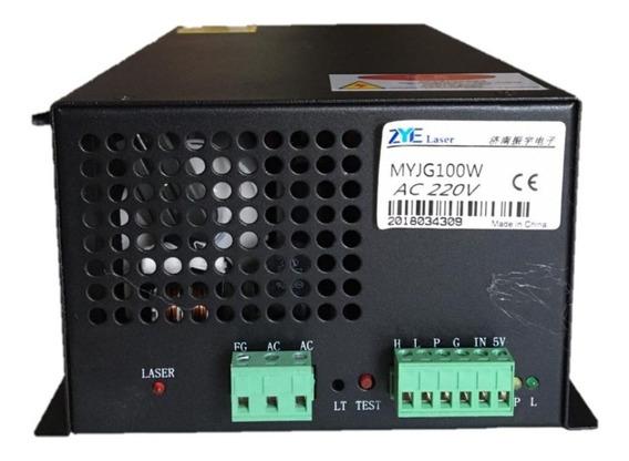 Fonte Para Maquina De Cortar E Gravar A Laser 100w