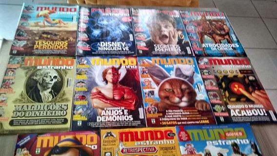 Lote Revista Mundo Estranho 2013 + Mundo Estranho Games