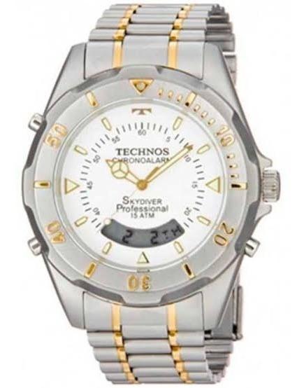 Relógio Technos Masculino Perfomnce Skydiver Misto T20557/9b