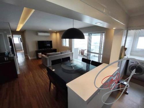 Imagem 1 de 20 de Apartamento Com 109 M2, 03 Suítes, Lavabo, 02 Vagas Cobertas, Depósito - Ap01004 - 69677940
