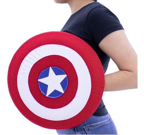 Imagen 1 de 3 de Escudo Capitan America Para Niño