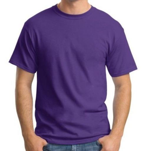 Camiseta Plus Size Lisa Básica 100% Algodão Ótima Qualidade