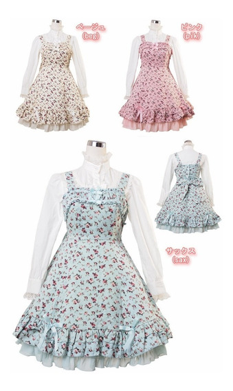 Jumperskirt Lolita Bodyline-l510 (pink)