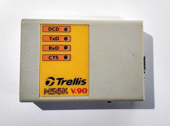 Fax Modem Externo 56k V.90 Rs 232 Trellis M56k