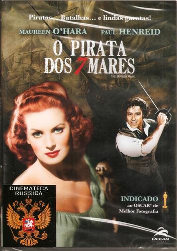 Dvd Piratas Dos Sete Mares, Maureen O` Hara F Borzage 1945 +