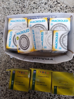 Lámpara Ar111 Led 11w Blanco Cálido Macroled