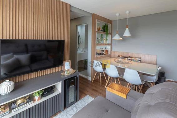Apartamento Com 2 Dormitórios À Venda, 57 M² Por R$ 320.000 - Residencial Dona Margarida - Santa Bárbara D