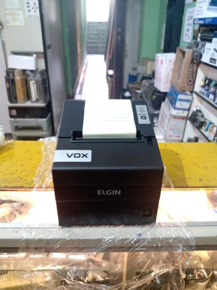 Impressora Térmica Elgin Vox Revisada Funcionando Ok Complet
