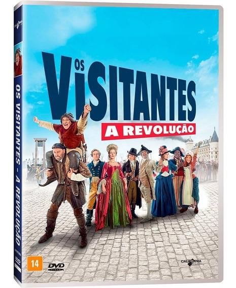 Dvd Os Visitantes A Revolução Original Europeu (lacrado)