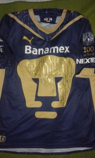 Camisa Pumas Unam Mexico Gg Conservação 10 !!!