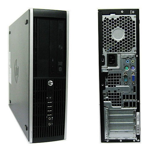 Pc Hp 6200 Core I5 8gb Ram Ssd 120 Windows7 # Promoção!