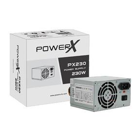 Fonte Atx Power-x Px230 230w Real Com Caixa Com Cabo