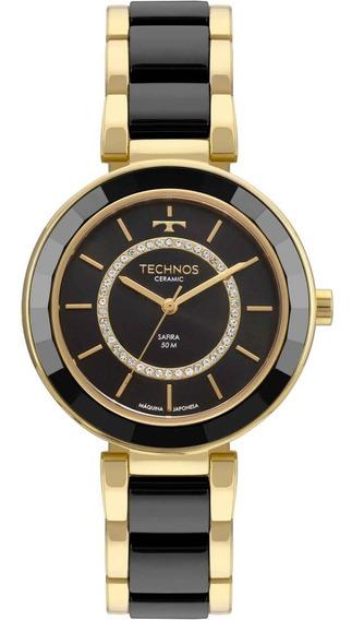 Relógio Technos Feminino Elegance Ceramic 2036mkp/4p