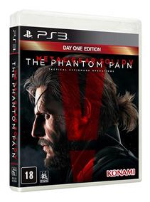 Metal Gear Solid V The Phantom Pain Para Ps3 Blu-ray Lacrado