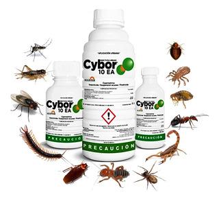 Insecticida Cybor 10 Ea 100ml Cipermetrina Plagas Urbanas