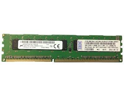Memoria Ram Ibm 49y1421 2gb 1rx8 Pc3l-10600e Ddr3 1333 Mhz