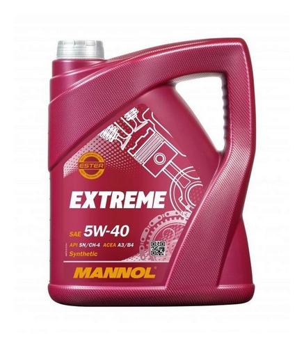 Imagen 1 de 5 de Aceite Mannol Extreme 5w40 5lts Sintetico Made In Germany