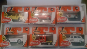 Matchbox 2001/2002 Coca Cola 50th Aniversario Full Set 10