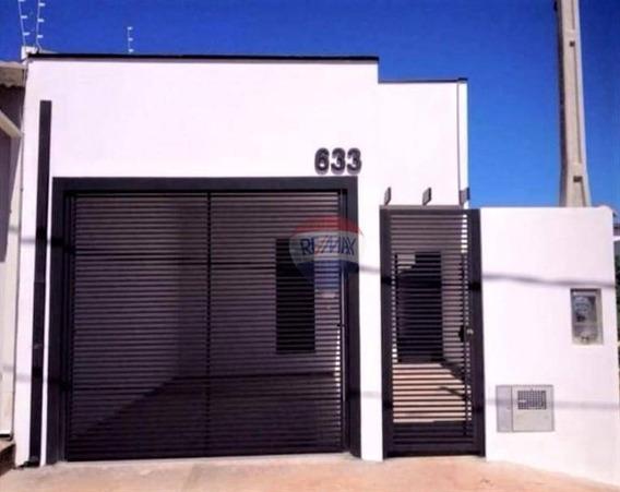 Casa Com 2 Dormitórios Para Alugar, 96 M² Por R$ 1.100/mês - Jardim Ypê - Botucatu/sp - Ca0718