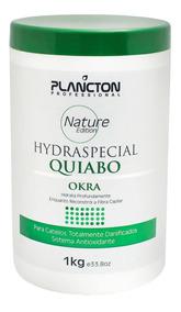 Hydra Special Quiabo Plancton Máscara Revitalizante 1kg