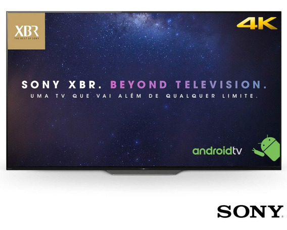 Smart Tv Oled 65 Sony Xbr-65a8f 4k Ultra Hd Hdr Com Android