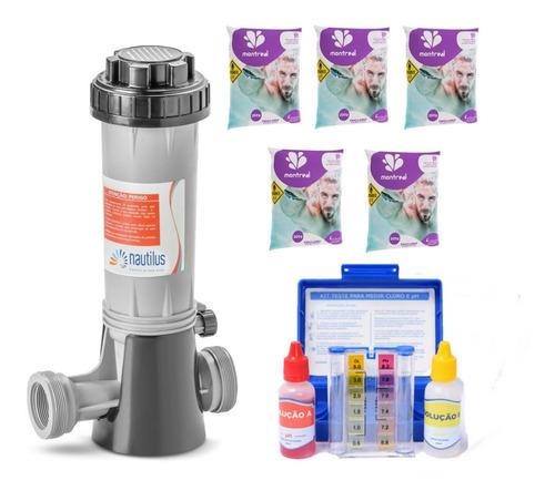 Imagem 1 de 6 de Dosador De Cloro Automático Tratamento Água Consumo Humano