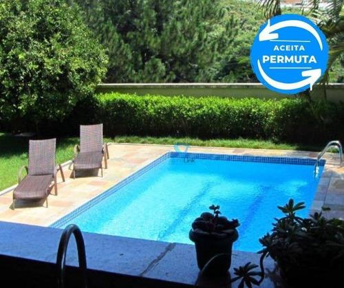Casa Com 5 Dormitórios À Venda, 480 M² Por R$ 2.180.000 - Residencial 12 (alphaville) - Santana De Parnaíba/sp - Ca1387