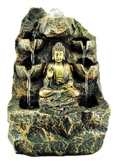 Fuente Agua Buda 27cm Feng Shui Deco Relax Zen 306.1140602