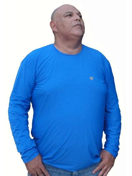 Combo 3 Camisas Térmica Proteção Uva E Uvb -até 190 Kg.top