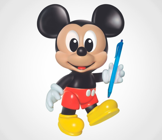 Bonecos De Vinil Mickey
