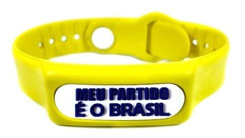 Pulseira Do Equilíbrio Meu Partido É O Brasil Infravermelho