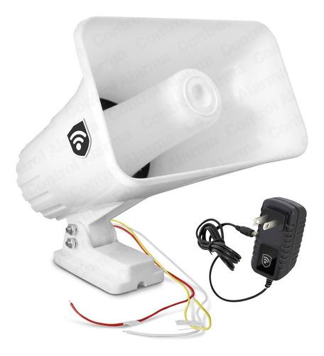 Imagen 1 de 5 de Sirena 30w 2 Tonos Exterior Tipo Banco Vecinal Alarma Casa