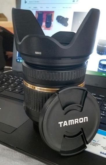 Lente Tamron 17-50mm 2.8 Com Vc Para Nikon Vem Com Parasol