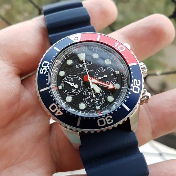 Relógio Seiko Ssc663 Completo - Usado Em Excelente Estado