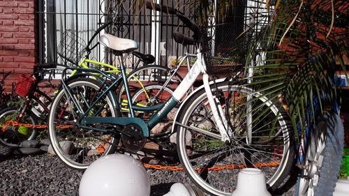 Bicicleta Rod.26/ De Pseo / Mujer/ Retroclásicos