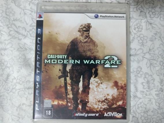 Jogo Ps3 Call Of Duty Mw2 Mídia Física