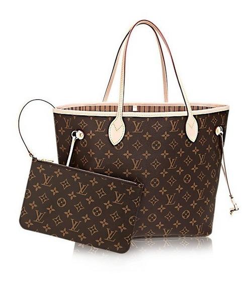 Bolsa Louis Vuitton Neverful Monogran
