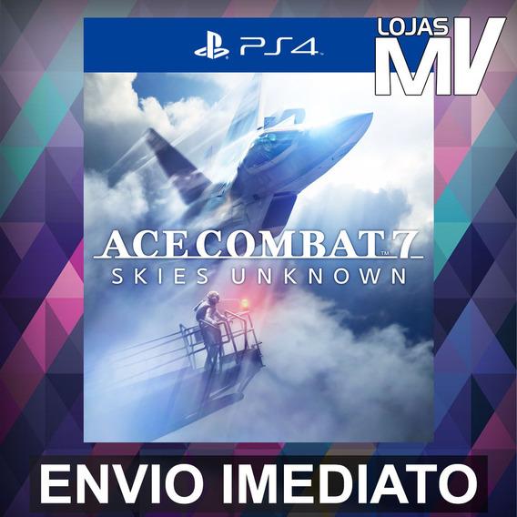 Ace Combat 7 Skies Unknown - Ps4 Código 12 Dígitos