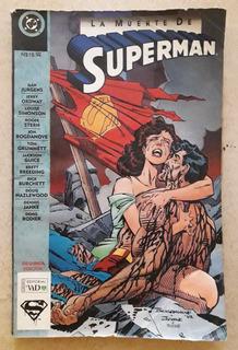 Cómic Muerte De Superman