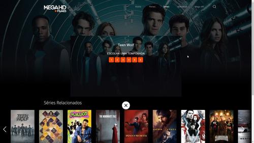 Tema Mega Hd Filmes - Tema De Wordpress De Filmes E Cinema
