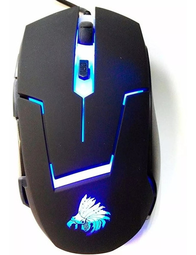 Imagen 1 de 6 de Mouse Gamer Eagle Warrior Óptico G13 Alámbrico 2400dpi Usb