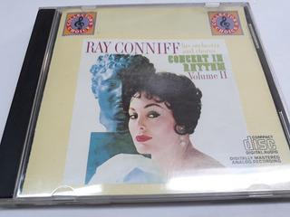 Ray Conniff*cd*concert In Rhthm Vol 2*importado*muy Bueno