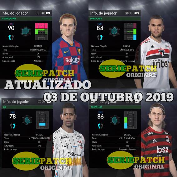 Patch Pes2018 Ps3 Super Atualizado Com Brasileirão Série B